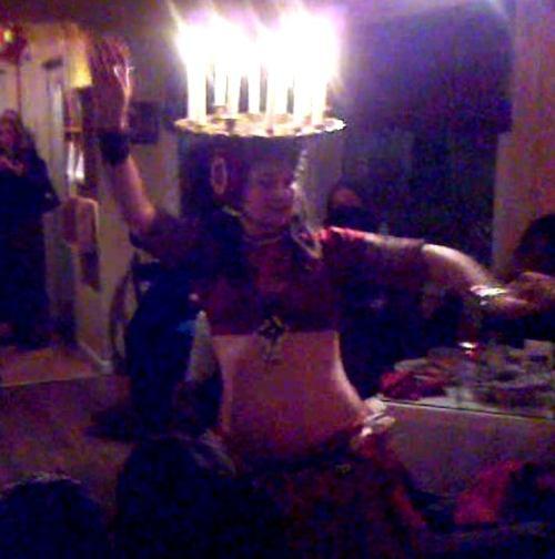 Shellece_candle_dance