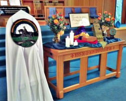 Altar at my Father's Memorial