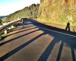 Winter shadows on the 101