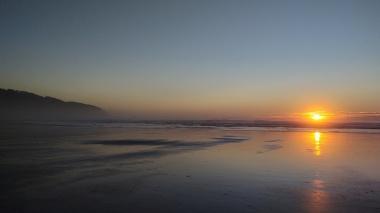 Wondrous North Oregon Coast sunset, Cape Lookout State Park, September 2021