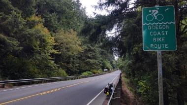 Oregon Coast Bike Route, 101 South